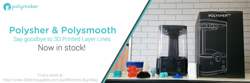 Polysher and PolySmooth in now stock and available Australia wide!