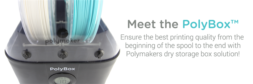 Meet the PolyBox dry storage box, Polymakers second new hardware product!